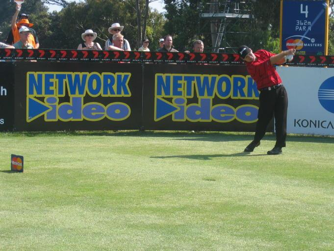 Network Video sponsorship at Australian Masters