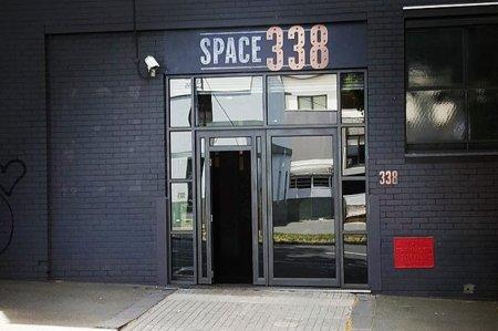 Space 338 entrance