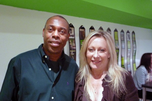 Keran and Michael Winslow Network Video's Ambassador