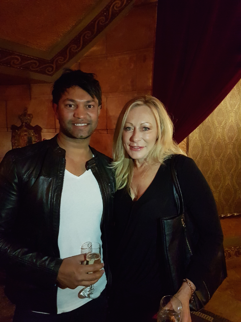 Keran with Saroo Brierley