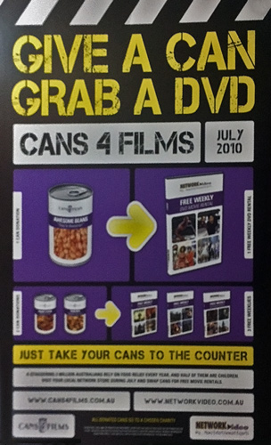 Cans4Films 2010 poster