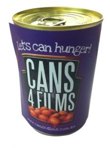 Cans 4 Films 2010 Can label