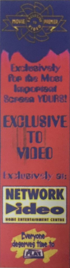 Exclusive to Video Tag