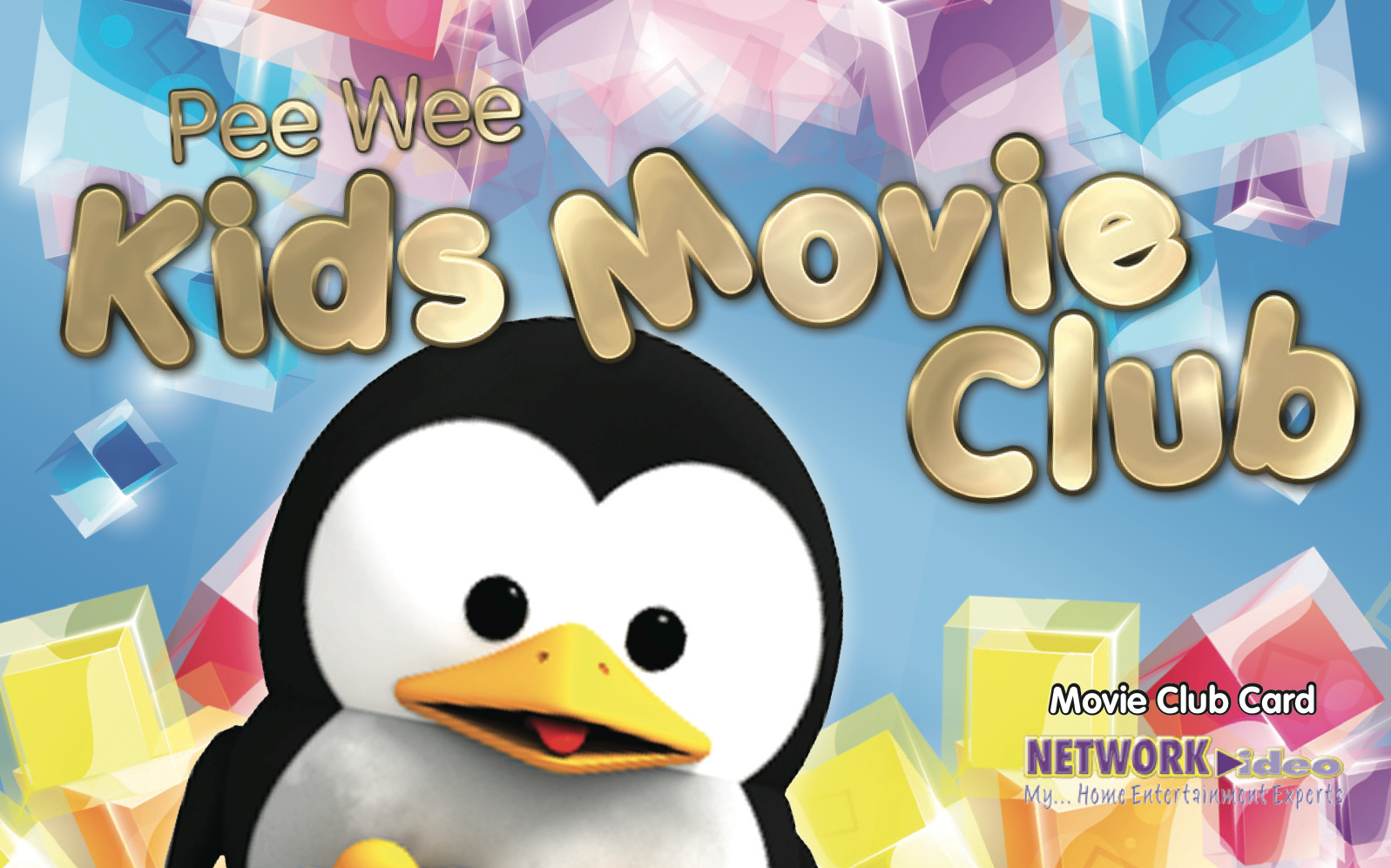 kids movie club Network Video Card