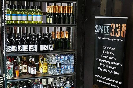 Space 338 Drinks cabinet